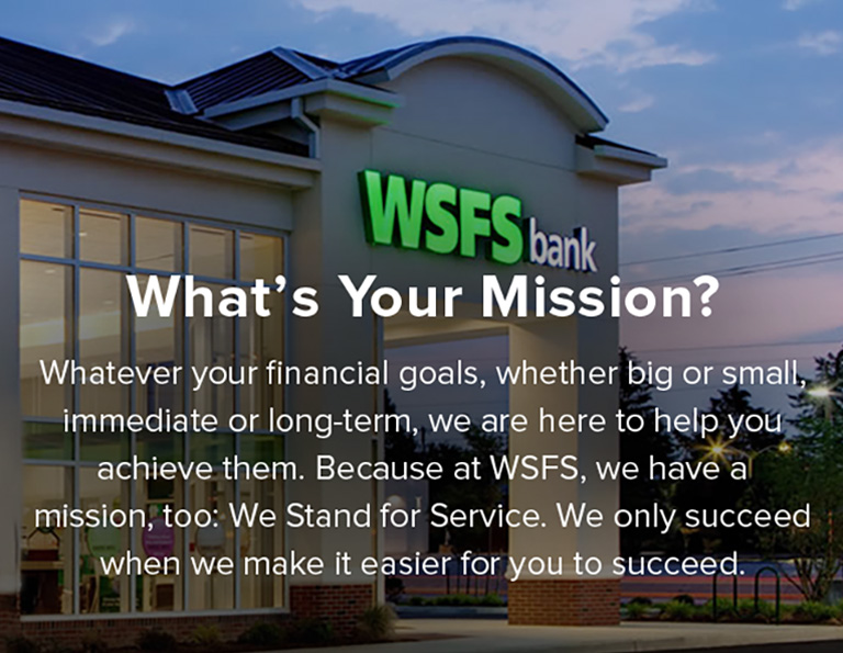 Commercial Banking Banks for Business in Delaware WSFS Bank