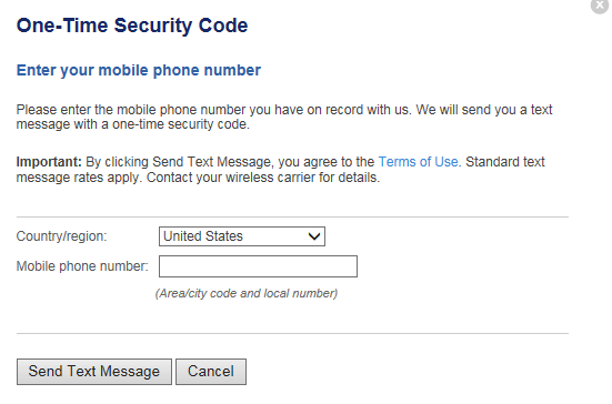 How to use a onetime security code to submit an approval WSFS Bank