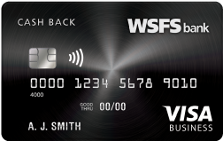 Credit Card Business Cash Back Visa